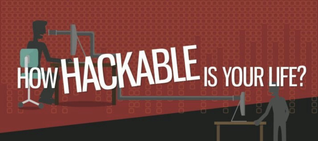 How hackable is your life
